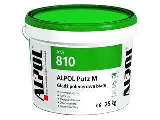 Gładź gipsowa Putz M polimerowa AM810 25kg Alpol