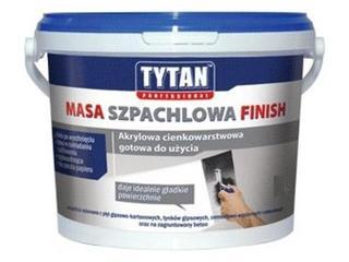 Gotowa masa szpachlowa Finish akryl 3kg Tytan