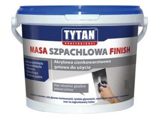Gotowa masa szpachlowa Finish akryl 7kg Tytan
