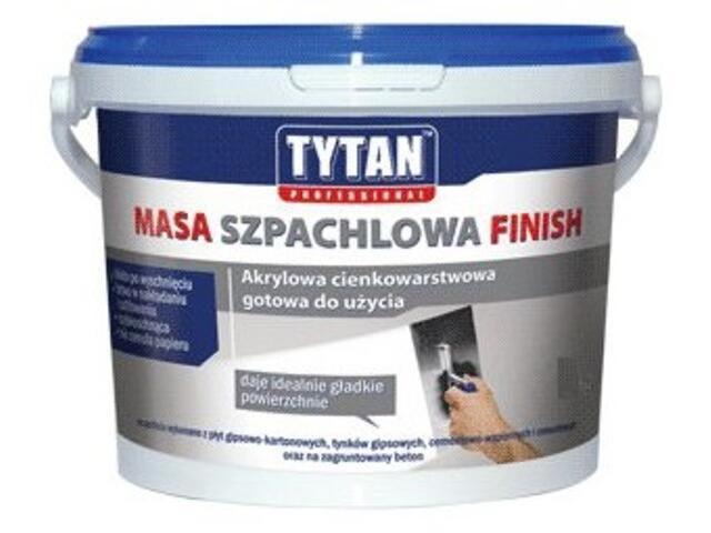 Gotowa masa szpachlowa Finish akryl 15kg Tytan