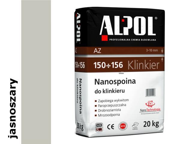 Spoina do klinkieru (3-10mm) jasnoszara AZ154 20kg Alpol