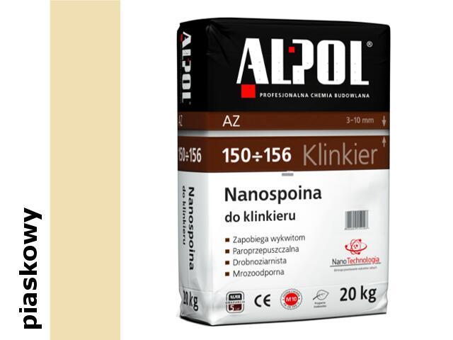 Spoina do klinkieru (3-10mm) piaskowa AZ156 20kg Alpol