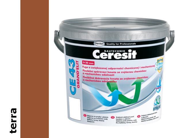 Spoina elastyczna Ceresit CE 43 terra Grand'Elit 25kg