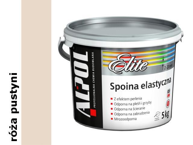 Spoina elastyczna Elite (2-20mm) róża pustyni ASE63 5kg Alpol