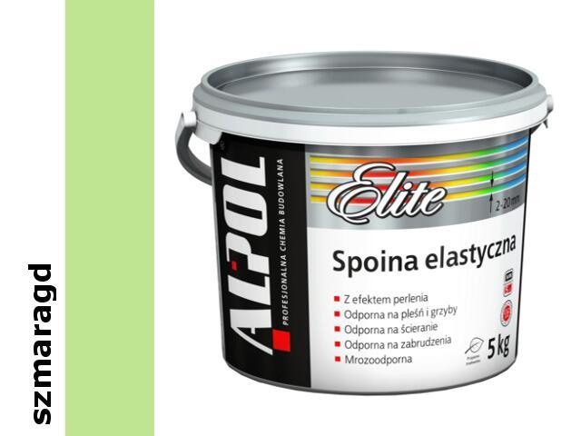 Spoina elastyczna Elite (2-20mm) szmaragd ASE67 5kg Alpol