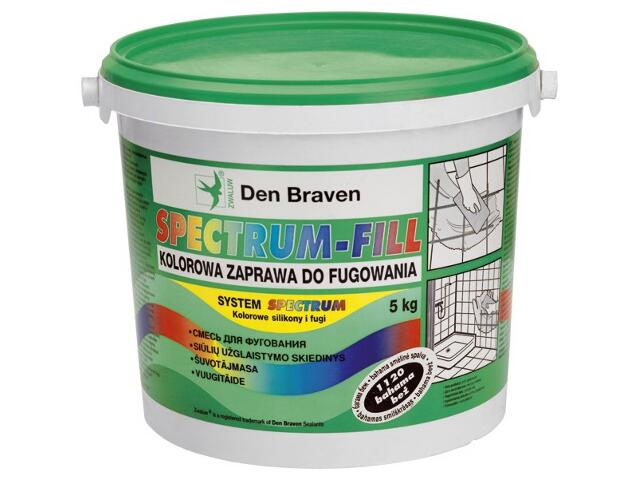 Spoina wąska Spectrum-Fill (2-6mm) bahama beż 5kg Den Braven