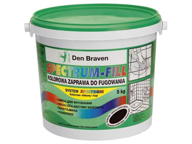 Spoina wąska Spectrum-Fill (2-6mm) jasny zielony 5kg Den Braven