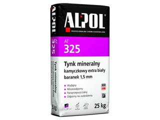 Tynk mineralny kamyczkowy extra biały baranek 1,5mm AT325 25kg Alpol