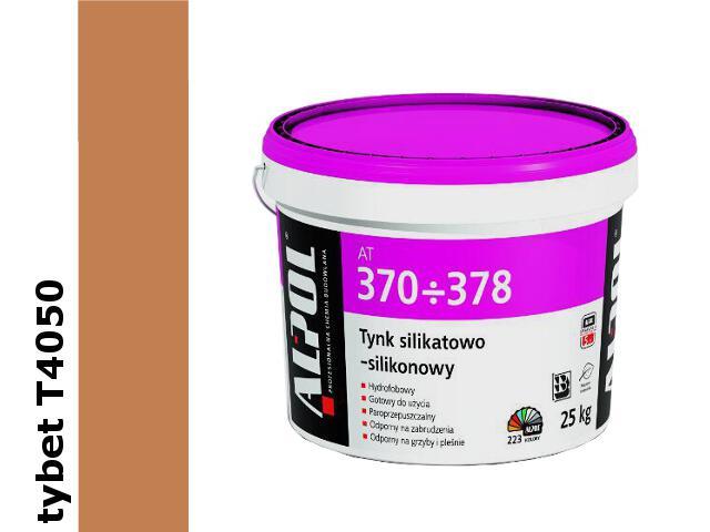 Tynk silikatowo-silikonowy baranek 1,5mm T4050 IVgr. AT371 25kg Alpol
