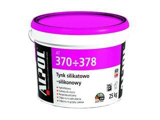 Tynk silikatowo-silikonowy baranek 1,5mm Igr. AT371 25kg Alpol