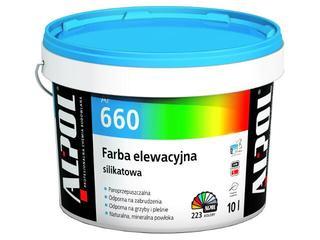 Farba elewacyjna silikatowa I gr. AF660 10l Alpol