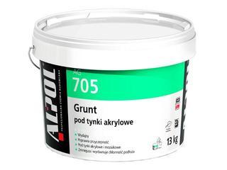 Grunt podtynkowy (pod tynki akrylowe) AG705 13kg Alpol