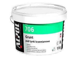 Grunt podtynkowy (pod tynki krzemianowe) AG706 13kg Alpol