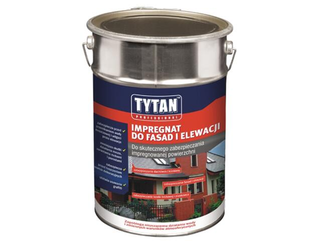 Impregnat do fasad i elewacji bezbarwny 5l Tytan