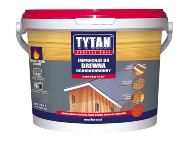 Impregnat do drewna ognioochronny czerwony 1kg Tytan
