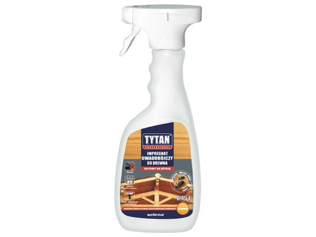 Impregnat do drewna owadobójczy 0,45l Tytan