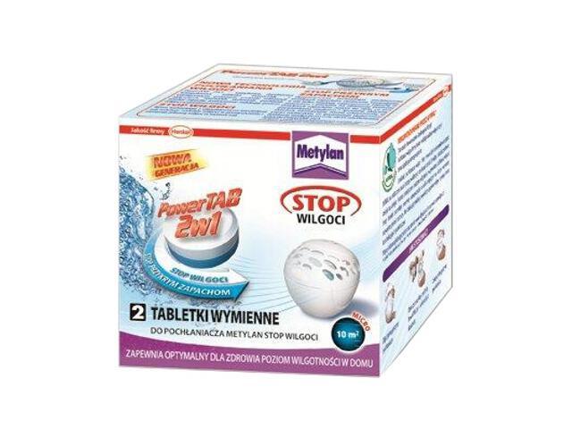 Tabletki wymienne Metylan Stop Wilgoci TAB 2x300g