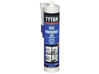 Klej montażowy SBS CSX320 310ml Tytan