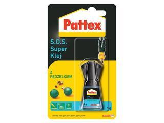 Klej uniwersalny Pattex SOS Super Klej z pędzelkiem 5g