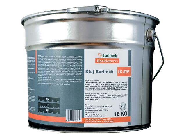 Klej do drewna poliuretanowo-silanowy jednoskładnikowy 1K STP 16kg Barlinek