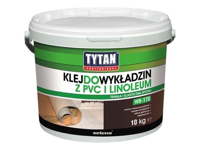 Klej do wykładzin z PCV i linoleum WB-170 10kg Tytan
