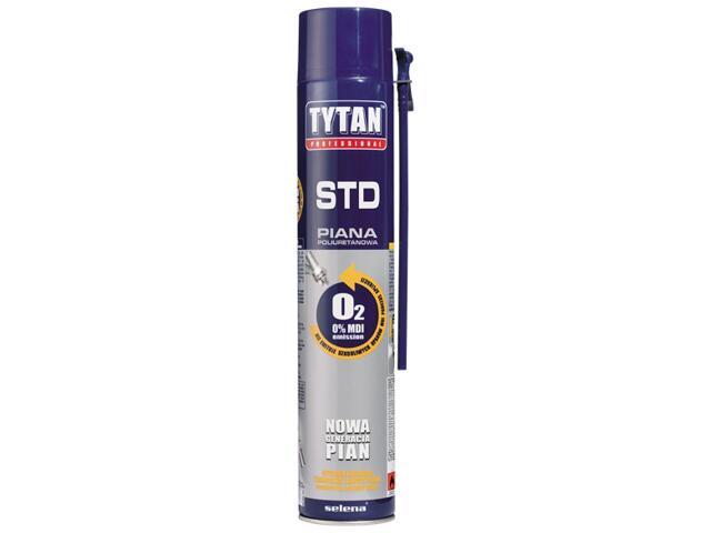 Piana wężykowa Professional O2 750ml Tytan