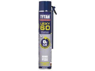 Piana wężykowa Professional O2 LEXY 60 750ml Tytan