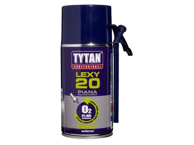 Piana wężykowa Professional O2 LEXY 20 300ml Tytan