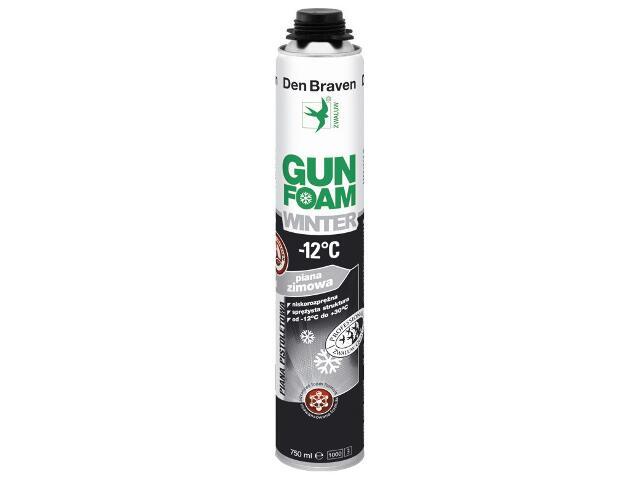 Piana pistoletowa Gunfoam Winter -12°C 750ml Den Braven