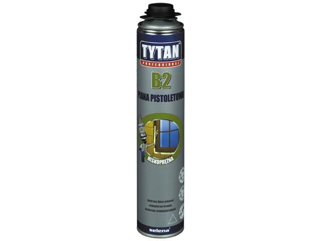 Piana pistoletowa B2 (trudnopalna) 750ml Tytan