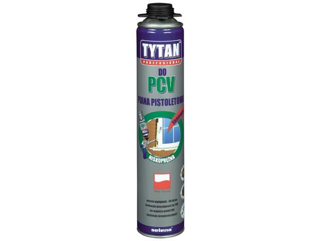 Piana pistoletowa do PCV 750ml Tytan