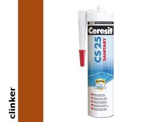 Silikon sanitarny Ceresit CS25 clinker 280ml