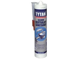 Silikon sanitarny szary 310ml Tytan