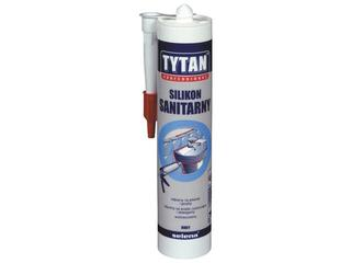Silikon sanitarny biały 310ml Tytan