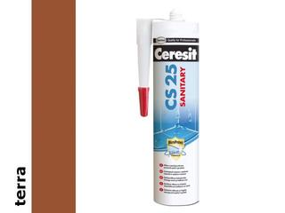 Silikon sanitarny Ceresit CS25 terra 280ml