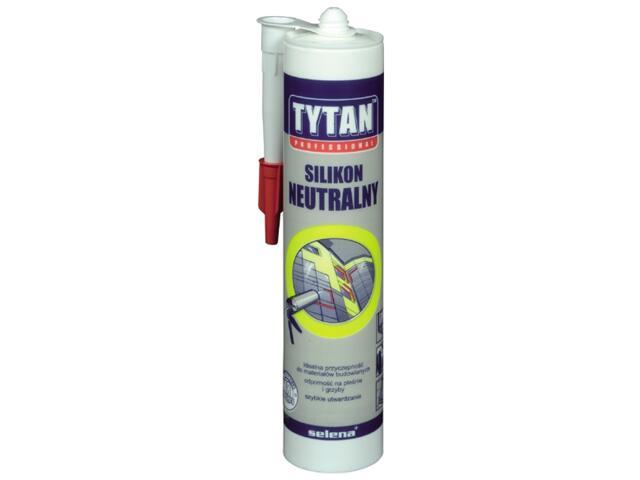 Silikon neutralny brązowy 310ml Tytan