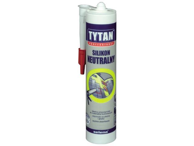 Silikon neutralny bezbarwny 310ml Tytan