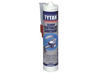 Silikon neutralny sanitarny bezbarwny 310ml Tytan