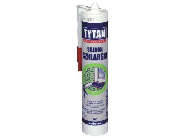 Silikon szklarski biały 310ml Tytan