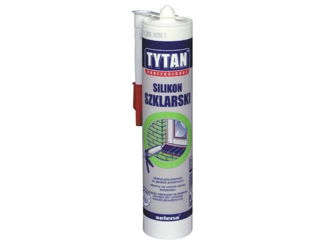 Silikon szklarski szary 310ml Tytan
