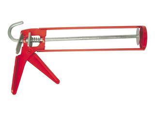 Pistolet do pianki / silikonu szkieletowy aluminiowy w kartuszach 310ml Tytan