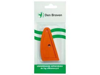 Szpachelka do wygładzania silikonu mała Den Braven