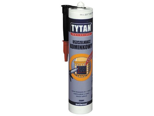 Uszczelniacz dekarski kominkowy 1250°C 310ml Tytan