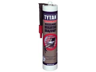 Uszczelniacz dekarski czerwony 310ml Tytan