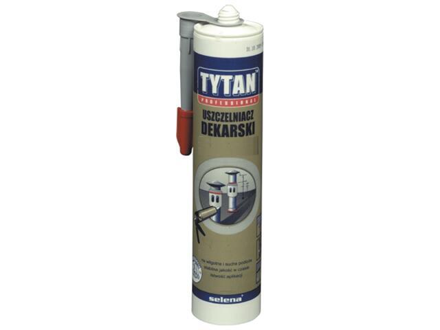 Uszczelniacz dekarski bezbarwny 310ml Tytan