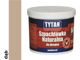 Szpachla naturalna do drewna dąb 200ml Tytan