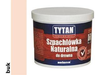 Szpachla naturalna do drewna buk 200ml Tytan
