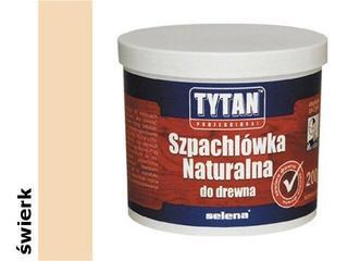 Szpachla naturalna do drewna świerk 200ml Tytan