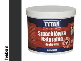 Szpachla naturalna do drewna heban 200ml Tytan