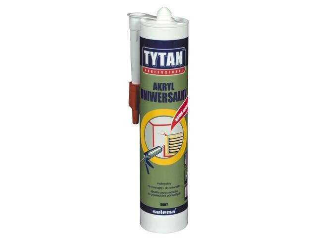 Akryl uniwersalny biały 310ml Tytan